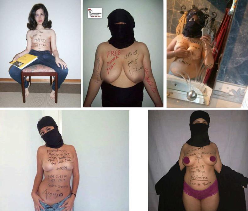 【おっぱい】イスラム系の普段は露出少ないお姉さんが脱ぐと漏れなく巨乳で褐色なので中東系のエッロいおっぱいエロ画像集めてみた【80枚】 73