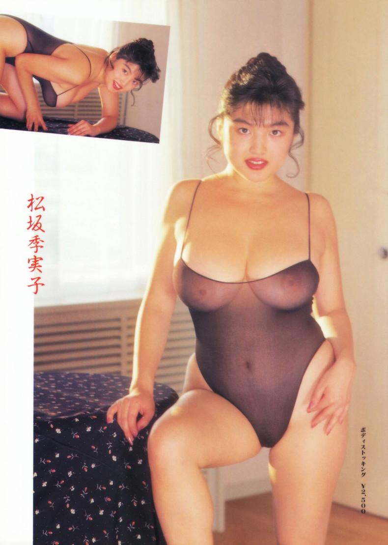 【おっぱい】昭和のバブル感を彷彿させる巨乳美女たちの一周回ってエロすぎるおっぱい画像集ww【80枚】 31