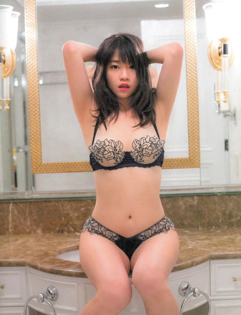 【おっぱい】黒ランジェリーを着た美巨乳な大人の女にパイズリされてみたい!黒ランジェリーのおっぱい画像集!ww【80枚】 48