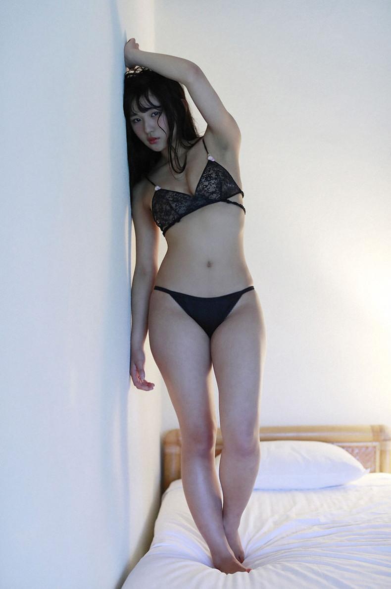 【おっぱい】黒ランジェリーを着た美巨乳な大人の女にパイズリされてみたい!黒ランジェリーのおっぱい画像集!ww【80枚】 53
