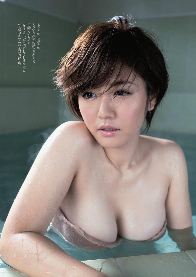 【おっぱい】びしょ濡れになるとほぼ全裸状態!肌色水着・湯葉水着のおっぱい画像集ww【80枚】 65