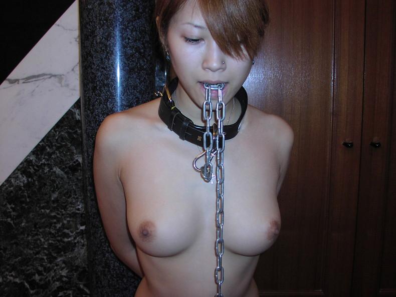 【おっぱい】ドMな美女達が首輪を装着され乳首を勃起させておねだりしてる首輪おっぱい画像集w【80枚】 15