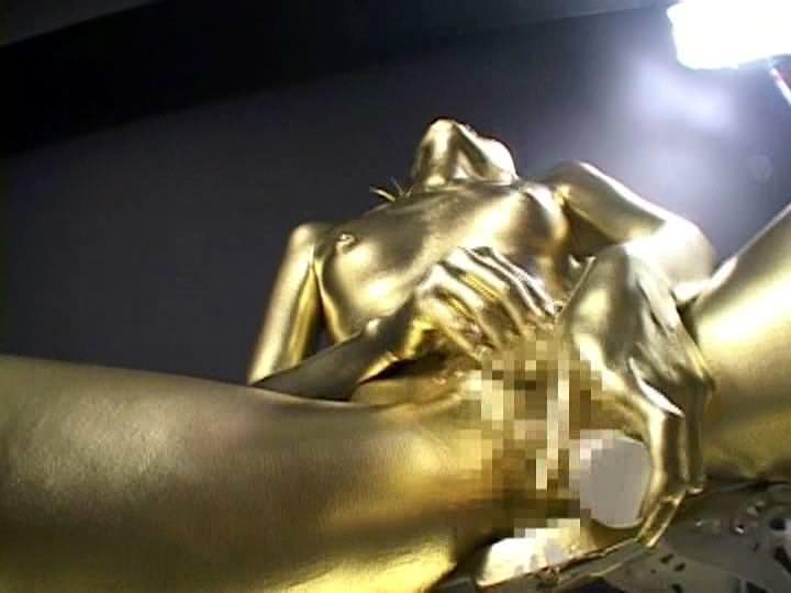 【おっぱい】金粉銀粉塗られて神々しくなってる黒ギャルならぬ金銀ギャルたちの金粉おっぱい画像集【80枚】 69