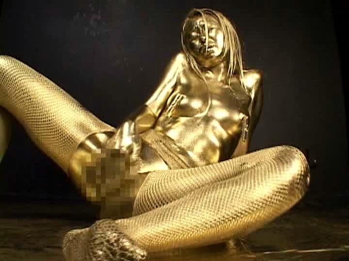 【おっぱい】金粉銀粉塗られて神々しくなってる黒ギャルならぬ金銀ギャルたちの金粉おっぱい画像集【80枚】 78