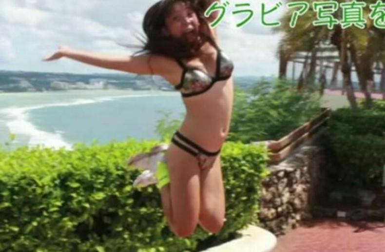 【おっぱい】スポーツブラ巨乳がエロ過ぎるユーチューバー芸人フワちゃんの胸チラおっぱい画像集!ww【80枚】 43