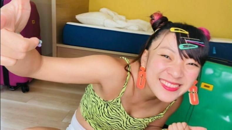【おっぱい】スポーツブラ巨乳がエロ過ぎるユーチューバー芸人フワちゃんの胸チラおっぱい画像集!ww【80枚】 53