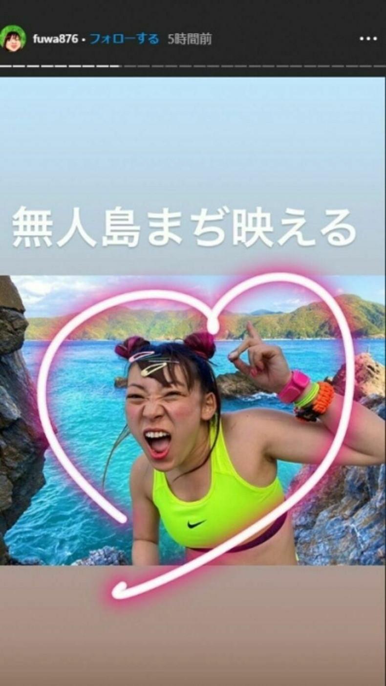 【おっぱい】スポーツブラ巨乳がエロ過ぎるユーチューバー芸人フワちゃんの胸チラおっぱい画像集!ww【80枚】 54