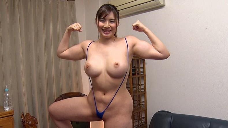 【おっぱい】筋力も性欲も強そそうなガッチリ肩幅女子のおっぱい画像集!ww【80枚】 01