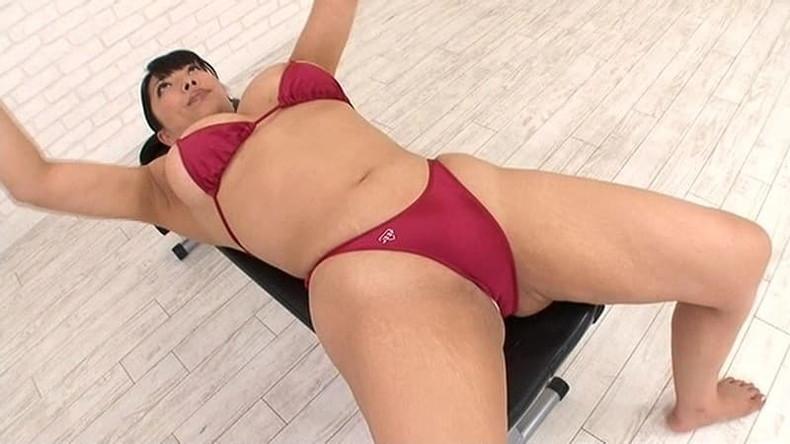 【おっぱい】筋力も性欲も強そそうなガッチリ肩幅女子のおっぱい画像集!ww【80枚】 05