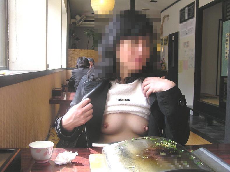 【おっぱい】泥酔し調子に乗って店内で乳首露出して寝取られちゃったww居酒屋おっぱい画像集【80枚】 38