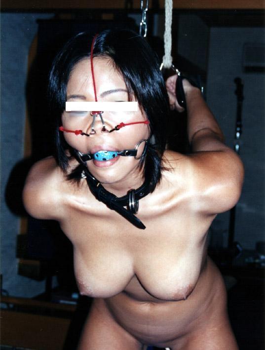 【おっぱい】SMアイテムであるボールギャグを装着させられ乳首勃起状態のドMなお姉さんたちのボールギャグおっぱい画像集w【80枚】 55