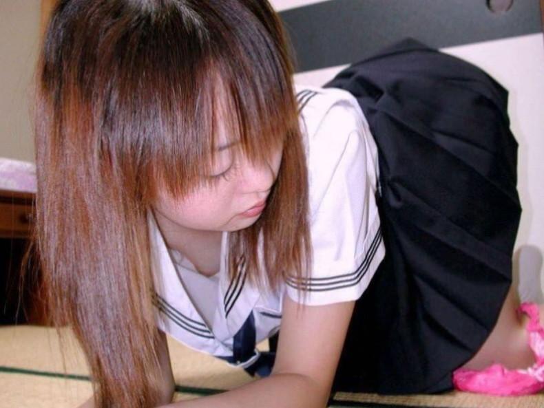 【おっぱい】清楚系JKからビッチそうなコギャルまで、まだあどけないロリな美乳がエロ過ぎる女子校生のおっぱい画像集!ww【80枚】 25