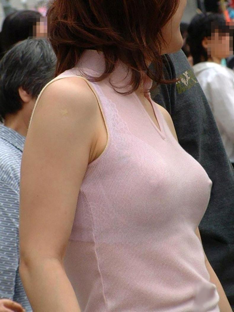 【おっぱい】ハードな勃起乳首が服を突き破りそうな勢いで胸ポチしている乳首ぽっちんのおっぱい画像集!ww【80枚】 76