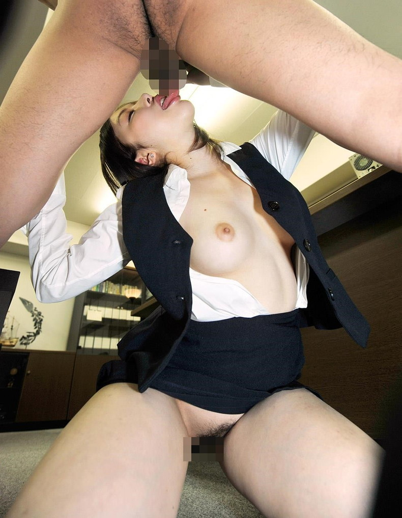【おっぱい】彼氏がいようとも上司にオフィスで制服やスーツを脱がされちんこ挿入されちゃうOLの寝取られおっぱい画像集【80枚】 26