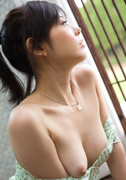 【おっぱい】爽やか元気印のポニーテール美少女が美乳を露出させるとエロのギャップがスゴすぎる件【80枚】 31