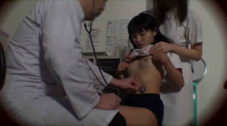 【おっぱい】学校の身体測定でJCやJKの成長段階のおっぱいを弄っちゃってる鬼畜医師の健康診断おっぱい画像集【80枚】 06