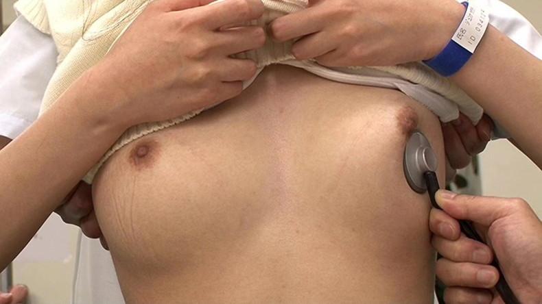 【おっぱい】ロリな乳首に聴診器当ててセクハラ触診したり巨乳痴女の女医がフェラししてる大人のお医者さんごっこのおっぱい画像集【80枚】 52