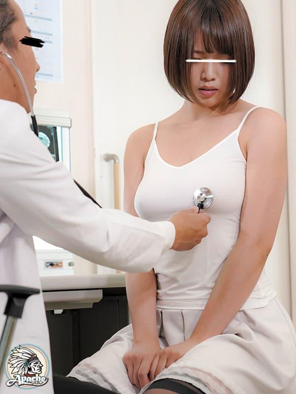 【おっぱい】内科や婦人科に診察に来たOLや巨乳な人妻たちが乳首弄られ寝取られ放題の診察おっぱい画像集ww【80枚】 23
