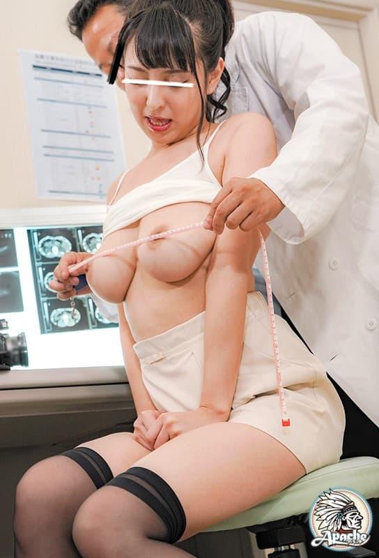 【おっぱい】内科や婦人科に診察に来たOLや巨乳な人妻たちが乳首弄られ寝取られ放題の診察おっぱい画像集ww【80枚】 54