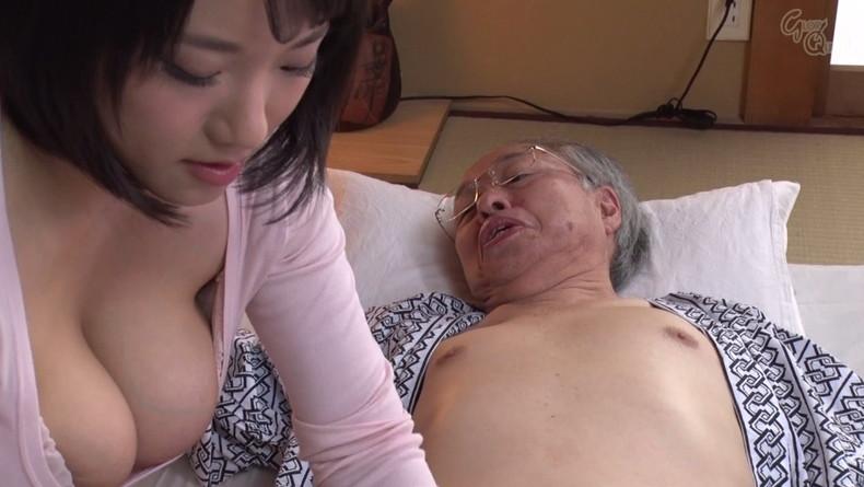 【おっぱい】お義父さん止めてください!wwむっちり巨乳の若妻が介護中の義父に寝取られデカパイを吸われちゃった介護妻のおっぱい画像集w【80枚】 36