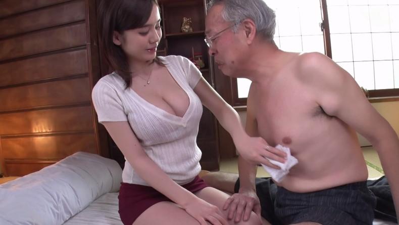 【おっぱい】お義父さん止めてください!wwむっちり巨乳の若妻が介護中の義父に寝取られデカパイを吸われちゃった介護妻のおっぱい画像集w【80枚】 47