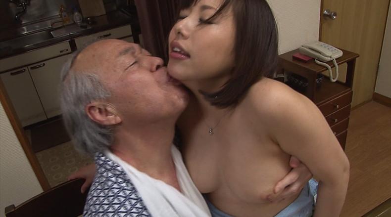 【おっぱい】お義父さん止めてください!wwむっちり巨乳の若妻が介護中の義父に寝取られデカパイを吸われちゃった介護妻のおっぱい画像集w【80枚】 74