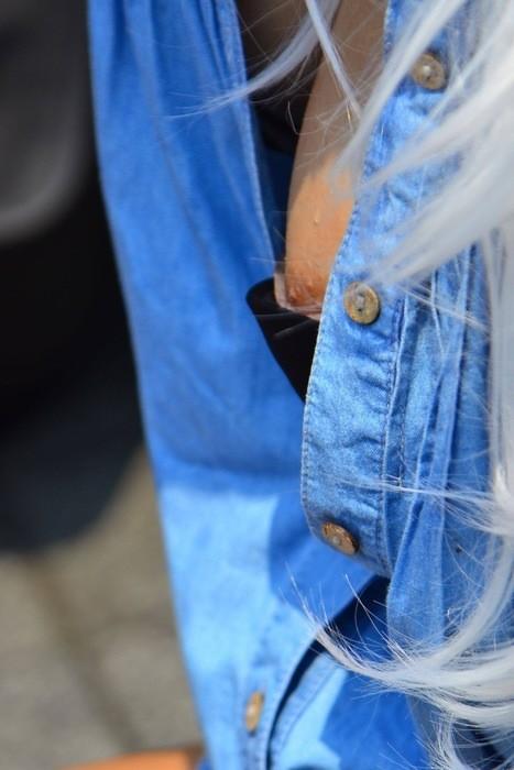 【おっぱい】ビキニ水着の素人娘やアスリート美女、アイドル芸能人たちの乳首がポロリしちゃったおっぱいポロリ画像集!w【80枚】 41