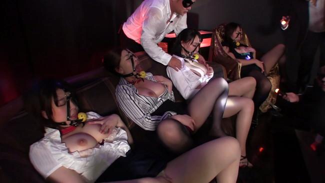 【おっぱい】闇の裏社会のオークションで全国のサド社長に買われる美人で巨乳なマゾ秘書たちのおっぱい画像がエロすぎる!【30枚】 11