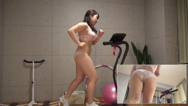 【おっぱい】汗だくになりながらも全裸でランニングし続けてくれちゃう素人の女の子たちのおっぱい画像がエロすぎる!【30枚】 15
