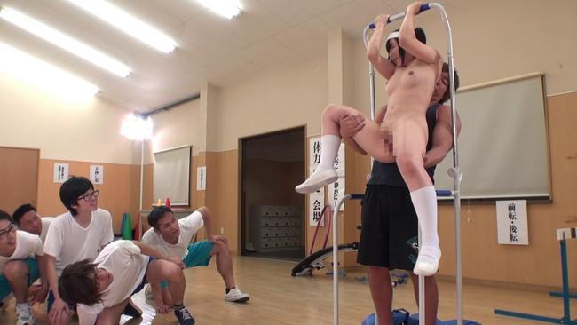 【おっぱい】段々とエスカレートしていく問題児矯正全裸体力測定競技会で無茶苦茶されちゃう女子校生たちのおっぱい画像がエロすぎる!【30枚】 10