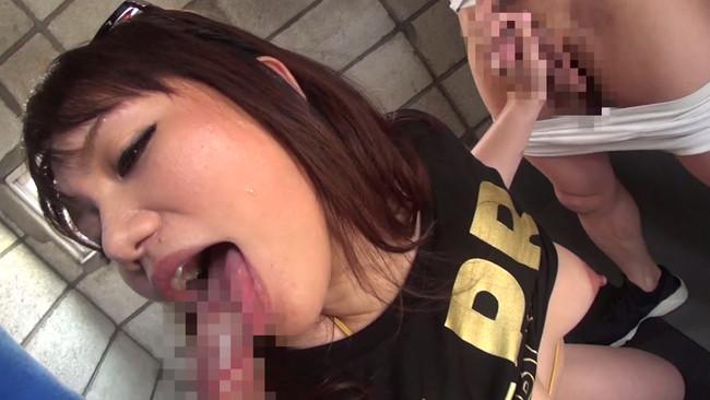 【おっぱい】ぶっかけベロちゅう中毒で男たちの濃厚ザーメンを舐めつくしてしまうデカ尻エロ長舌ダンサーのおっぱい画像がエロすぎる!【30枚】 12