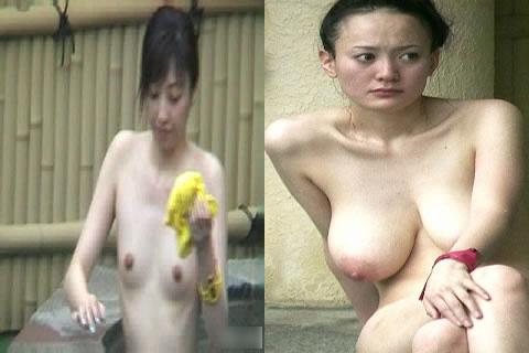 【おっぱい】露天風呂を覗くなら夏がベストなシーズンかもしれないと思い当たるwww【30枚】 22
