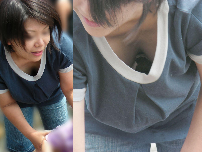 【おっぱい】乳首までチラリズムしている女の子も多く出現する夏www【30枚】 04