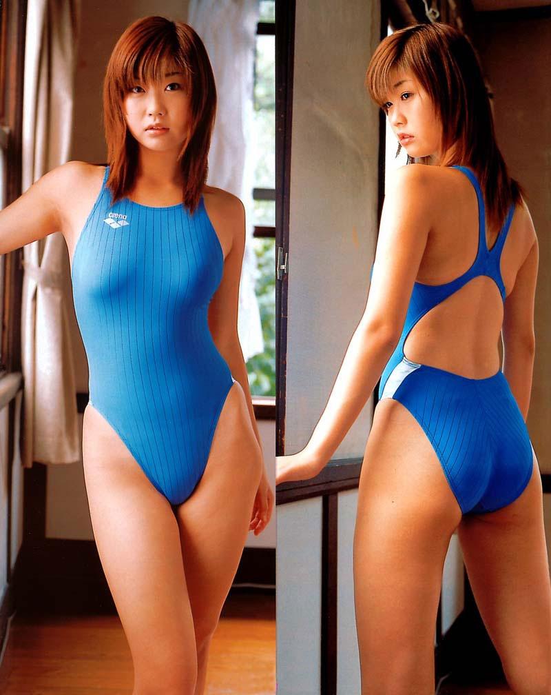 【おっぱい】露出部分が少ないがゆえにエロいという競泳水着についてwww【33枚】 16