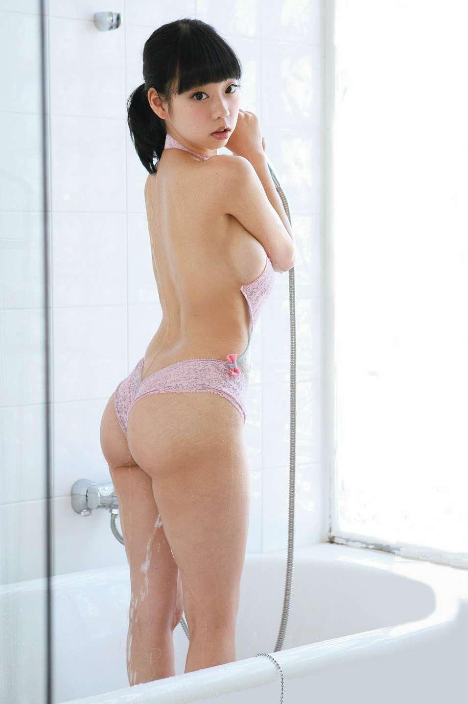 【おっぱい】シャワーでキレイになった美乳を舐め回してベトベトにしたい!【70枚】 67