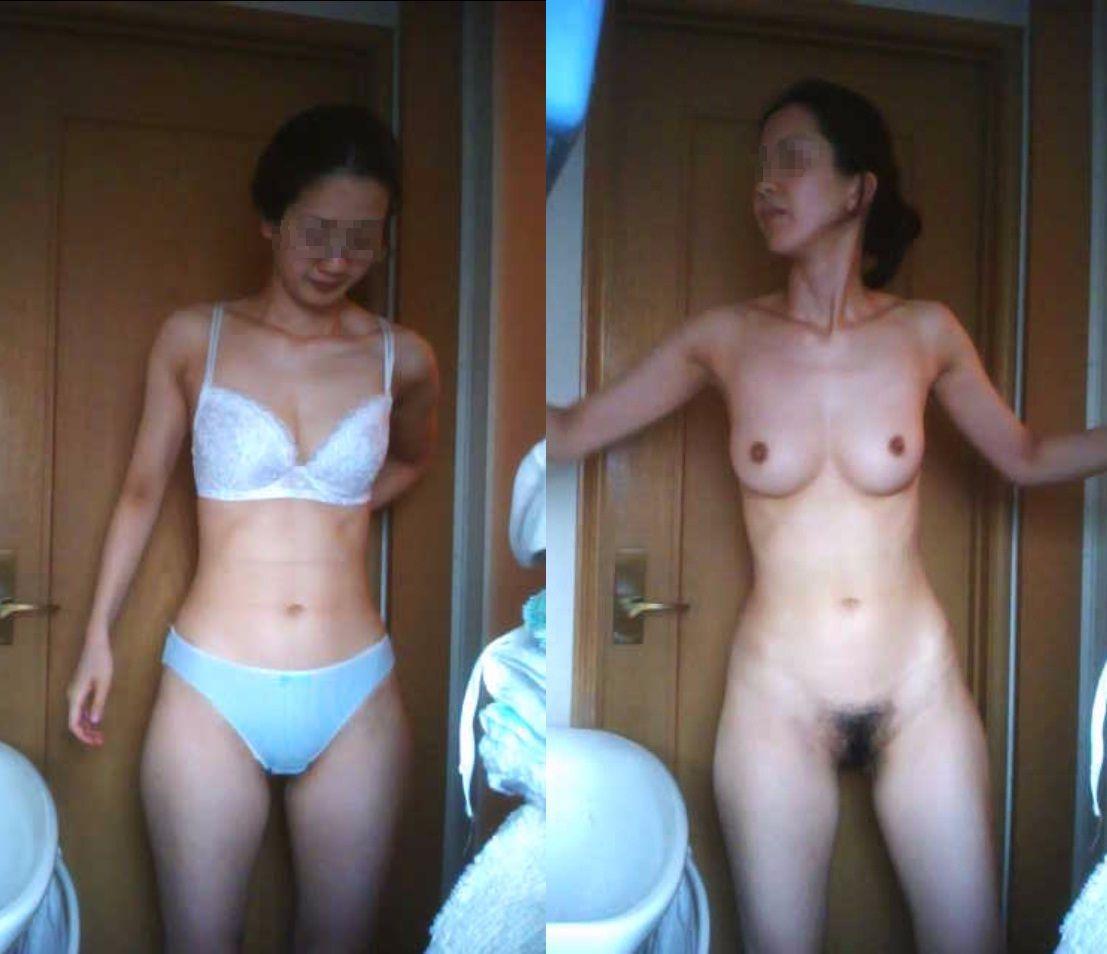 【おっぱい】脱衣所の覗き画像が多いのは、風呂よりも油断しているから?【90枚】 15