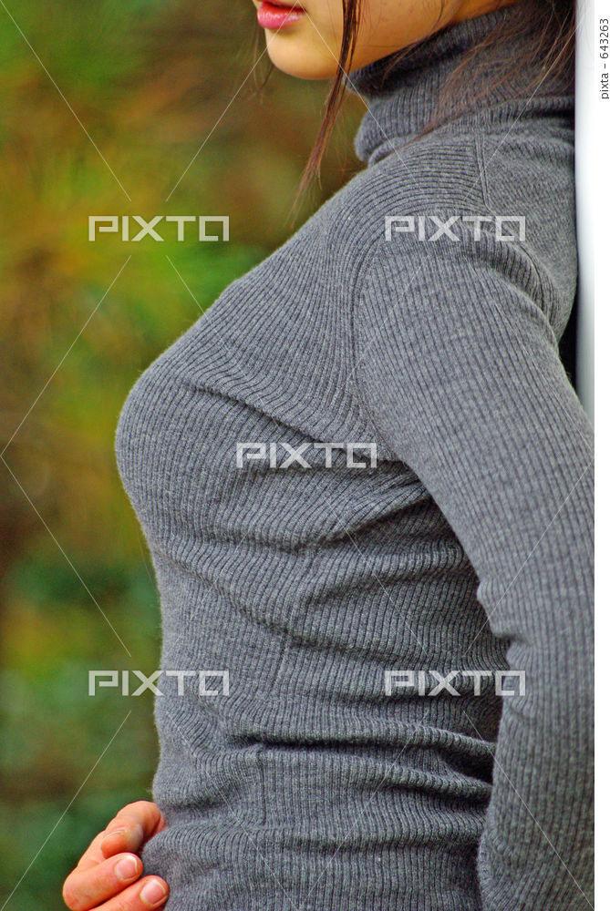 【おっぱい】年上の幼馴染みのお姉さんにして欲しいナンバーワンの服装ことセーターおっぱい【22枚】 06