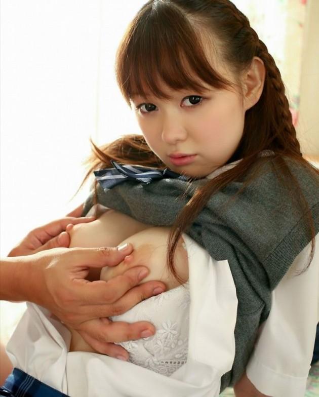 【おっぱい】乳首を責められて「アンッ...」となっている美乳ちゃんの愛撫画像【26枚】 18