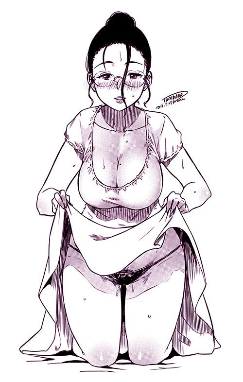 【おっぱい】人妻や年上をイラストで表現するとどうして巨乳になってしまうんだろう?【39枚】 21