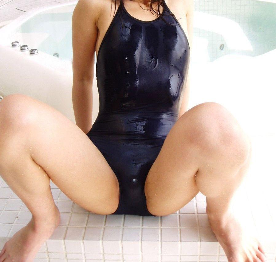 【おっぱい】スク水とか競泳水着ってビキニより露出低いのにエロいよなwww【39枚】 20