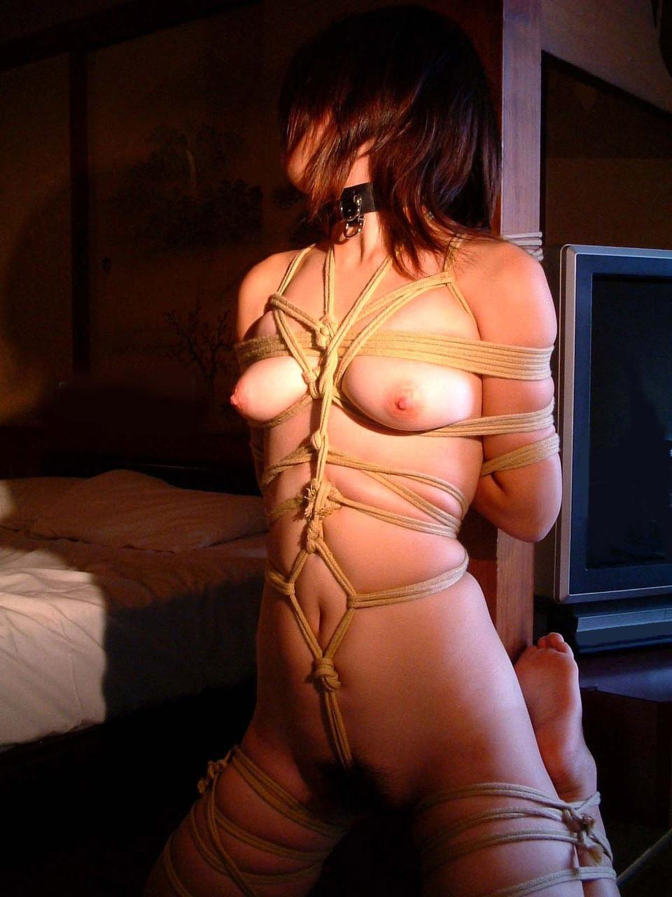 【おっぱい】ガッツリ緊縛されている女性の儚いおっぱいが抜けるwww【30枚】 06