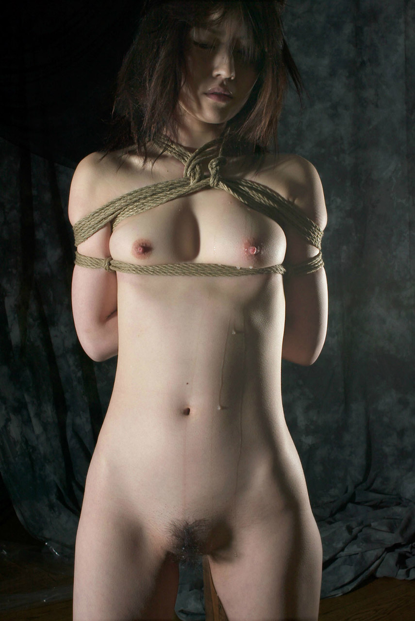【おっぱい】ガッツリ緊縛されている女性の儚いおっぱいが抜けるwww【30枚】 20