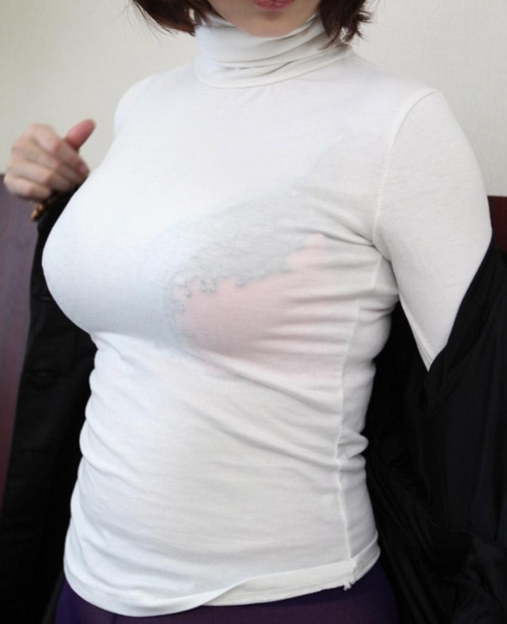 【おっぱい】プロがエロを追求した着衣巨乳は素人さんの街撮りよりもエロかったwww【33枚】 27