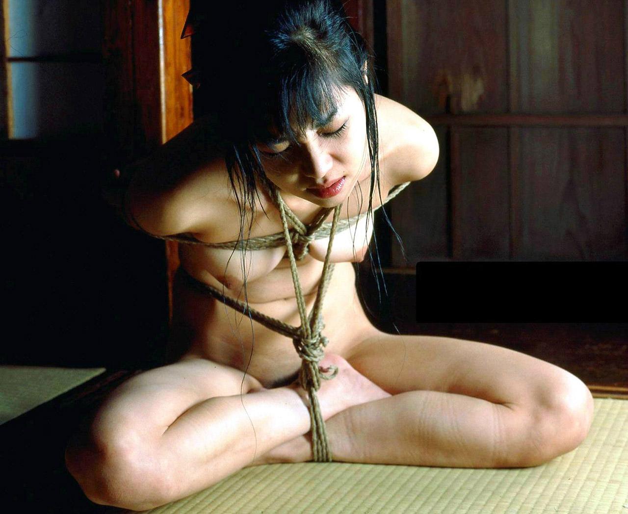 【おっぱい】ガッツリ緊縛されている女性を見て、まずおっぱいに目がいくのは邪道www【29枚】 24
