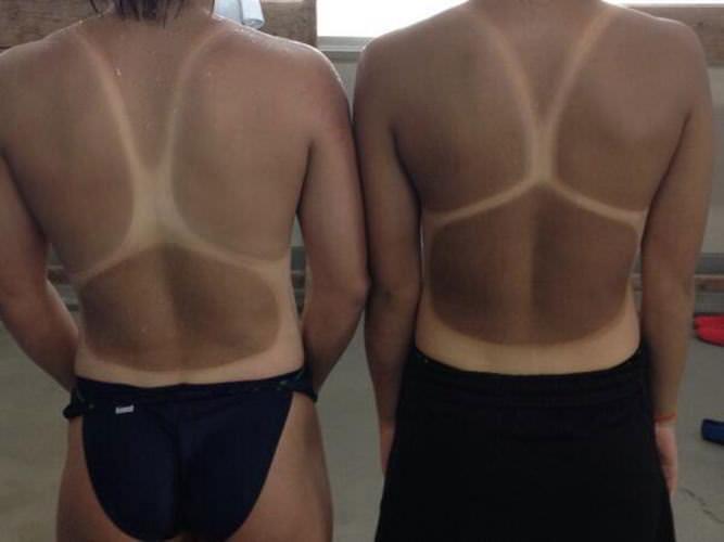 【おっぱい】夏にしっかりと焼いた女の子だけが持てる日焼けエロスという特殊能力【43枚】 37