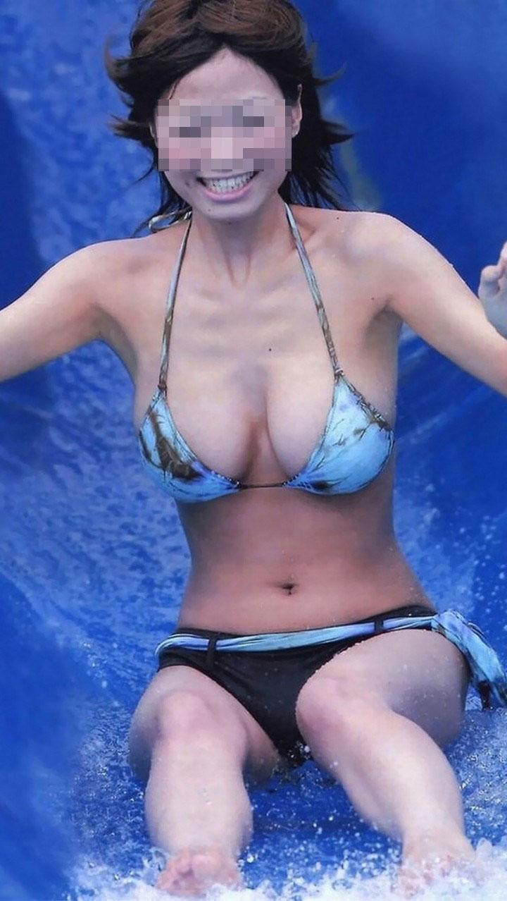 【おっぱい】少し温度が上がってきたらすぐに水着画像が恋しくなる禁断症状が...w【30枚】 27