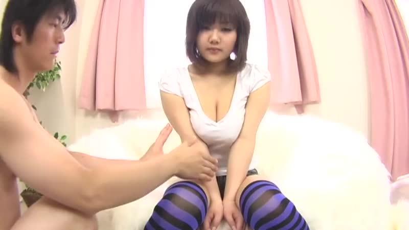 【エロ動画】谷間を見ているだけでも脱がしたくなる巨乳をあえて着衣で揉む動画!w【巨乳】 表紙