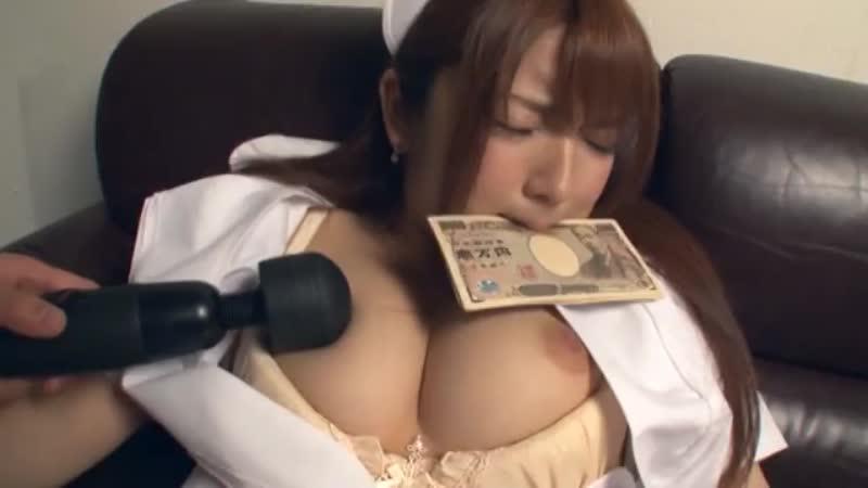 【エロ動画】深夜の病院で弱みを握られた爆乳ナースが医者にお金で抱かれていく!【神咲詩織】 表紙