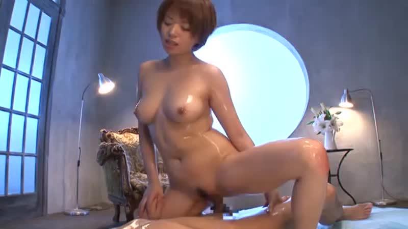 【エロ動画】星美りかがローションでテカテカでヌルヌル濃厚セックス!【星美りか】 表紙